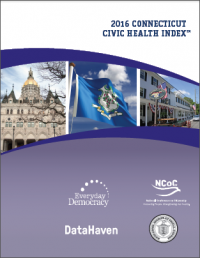2016 Connecticut Civic Health Index Report cover