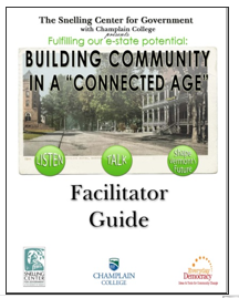 Building Community in a Connected Age Facilitators Guide