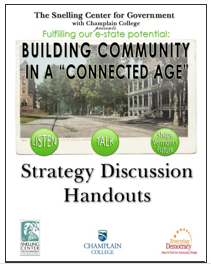 Building Community In A Connected Age Participant Guide