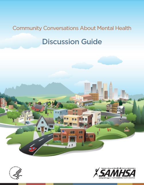 Cover of the Community Conversations About Mental Health Discussion Guide