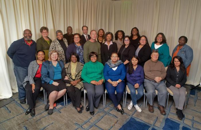 Group photo of people from Communities Creating Racial Equity
