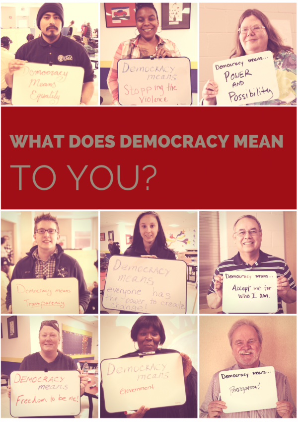 What does democracy mean to you? | Everyday Democracy